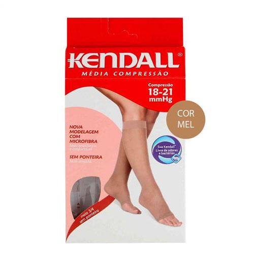 5983252f3 Meia Fem. 3 4 Média Compressão com Renda Kendall – Tam. M – Sem Ponteira