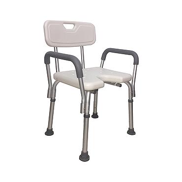cadeira de banho com alças laterais - mobil saúde