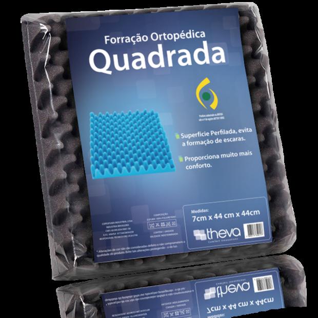 FORRAÇÃO ORTOPÉDICA QUADRADA CAIXA DE OVO