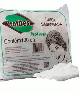 Touca Sanfonada Descartavel